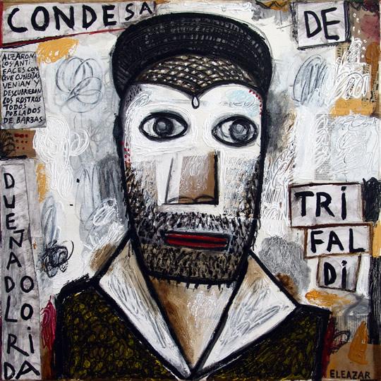 Condesa de Trifaldi: …alzaron los antifaces con que cubiertas venían, y descubrieron los rostros, todos poblados de barbas…