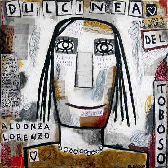 Dulcinea: No le faltaba otra cosa sino buscar una dama de quien enamorarse, porque el caballero andante sin amores era árbol sin hojas y sin fruto y cuerpo sin alma