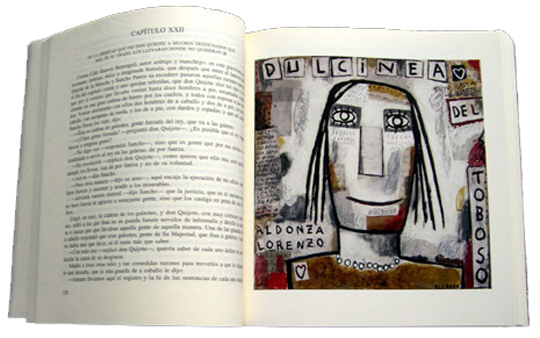 Edición del Quijote con motivo del IV Centenario de su publicación. Laboratorios Janssen-Cilag S.A. Madrid 2005