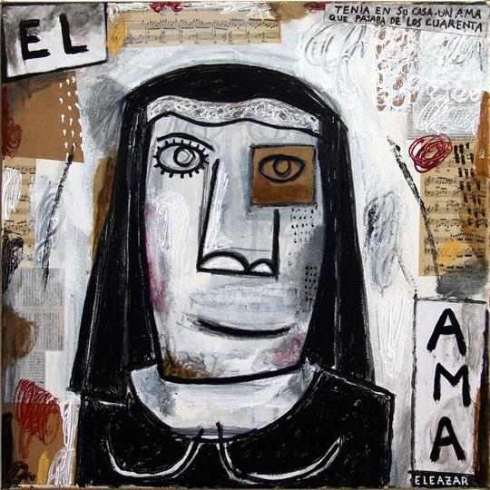 El Ama: Tenía en su casa un ama que pasaba de los cuarenta...