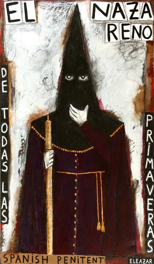 El Nazareno de todas las primaveras. Spanish Penitent