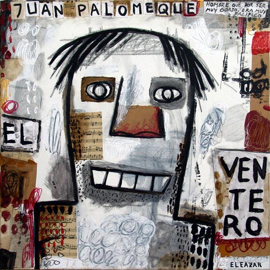 El Ventero Juan Palomeque: Hombre que por ser muy gordo era muy pacífico…