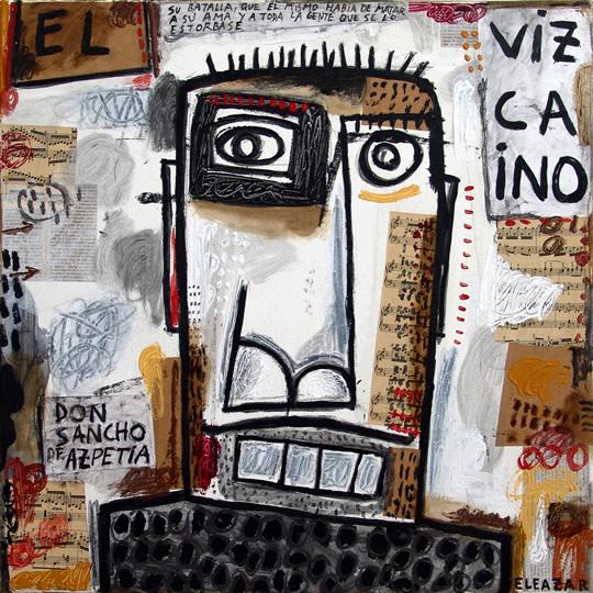 El Vizcaino: …su batalla, que él mismo había de matar a su ama y a toda la gente que se lo estorbase