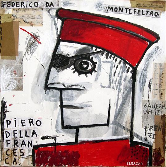 Federico da Montefeltro. Piero della Francesca