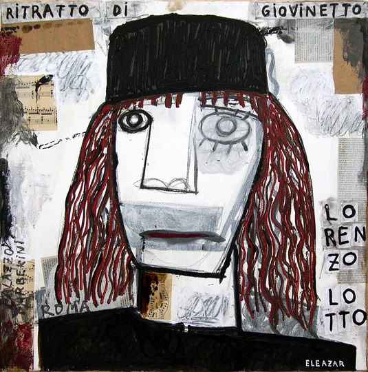 Lorenzo Lotto. Ritratto di giovinetto