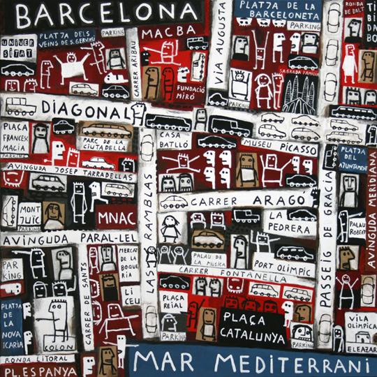 Las playas de Barcelona II