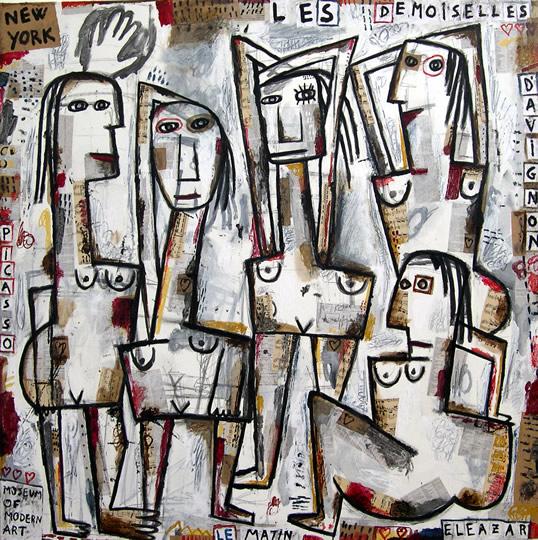 Les demoiselles d'Avignon le matin