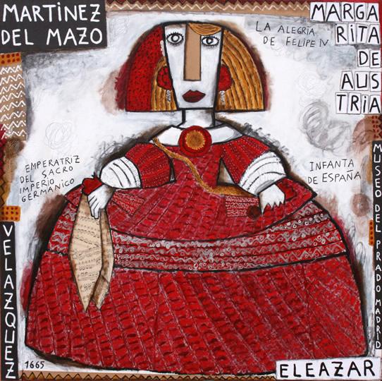 La Infanta Margarita de Austria. La Alegría de Felipe IV a la edad de 14 años