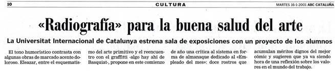 ABC-Cataluña. 16-1-2001