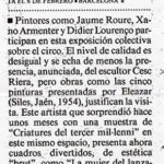 La Vanguardia. 19-1-2001