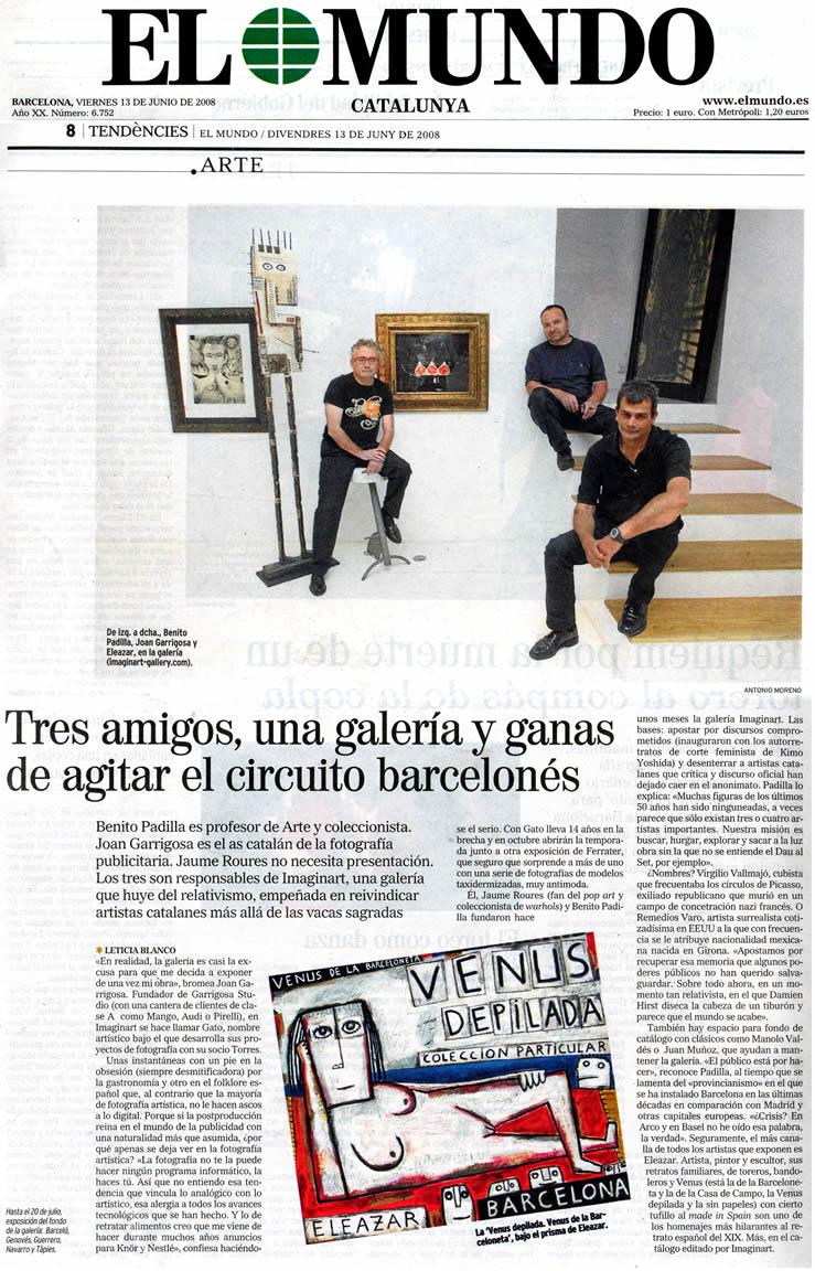 El Mundo. 13-6-2008