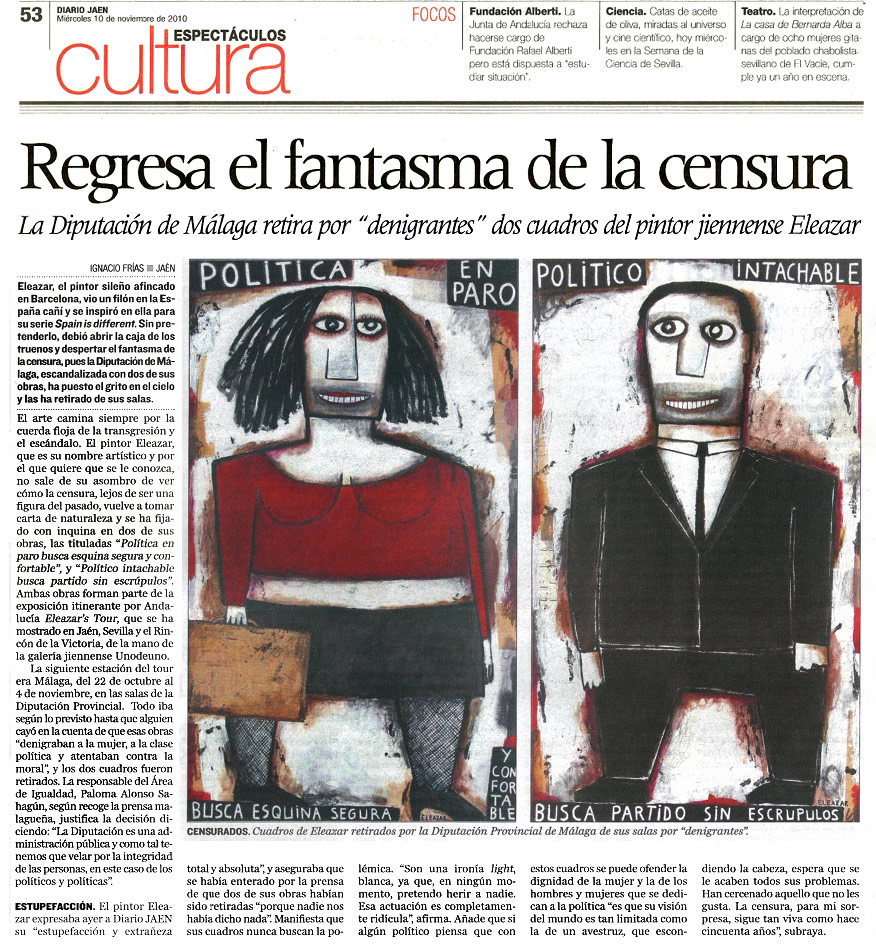 Diario Jaén. 10-11-2010