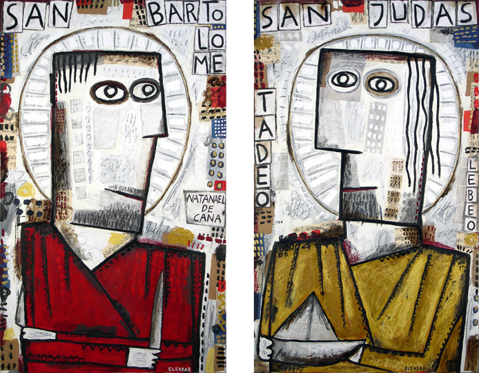 San Bartolomé. San Judas Tadeo