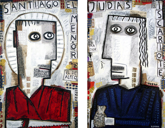 Santiago el Menor. Judas Iscariote