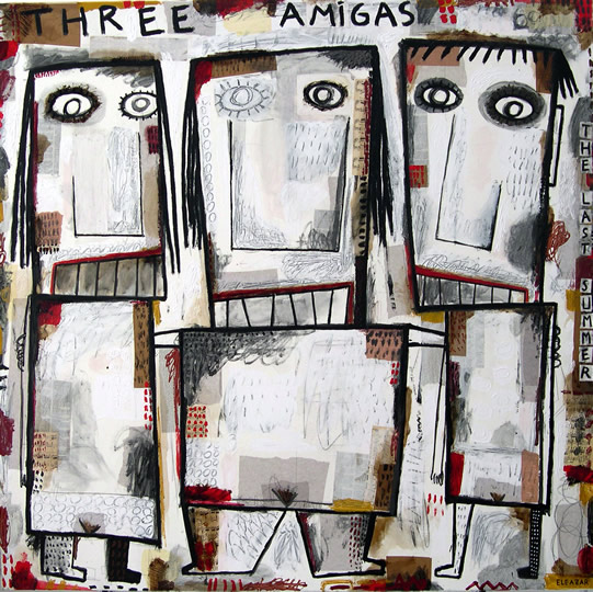 Three amigas the last summer