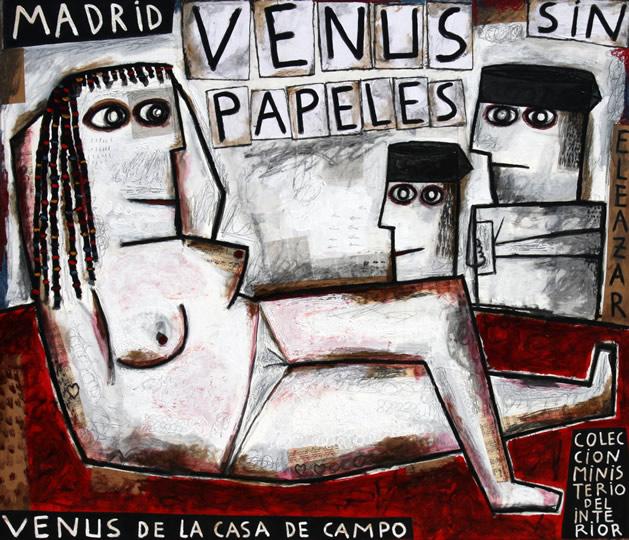 Venus sin papeles. Venus de la Casa de Campo