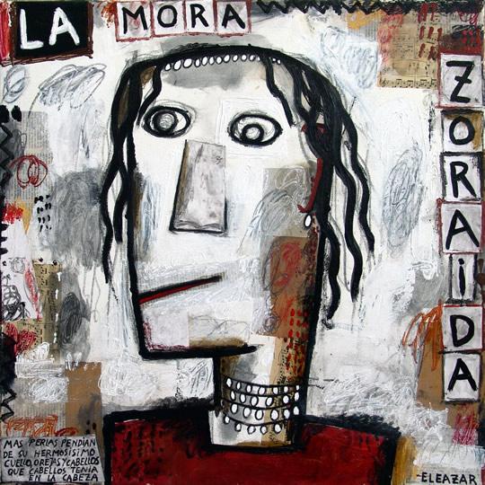 La Mora Zoraida: …más perlas pendían de su hermosísimo cuello, orejas y cabellos que cabellos tenía en la cabeza