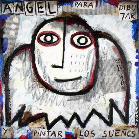 Ángel para dibujar y pintar los sueños