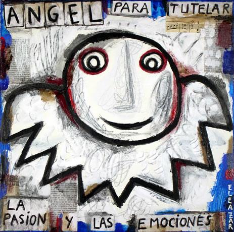 Ángel para tutelar la pasión y las emociones