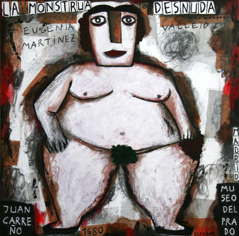 La monstrua desnuda