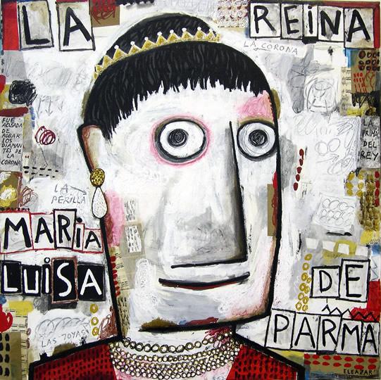 The Queen María Luisa of Parma