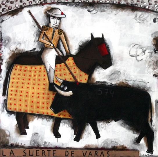 The lancing third. La Suerte de Varas
