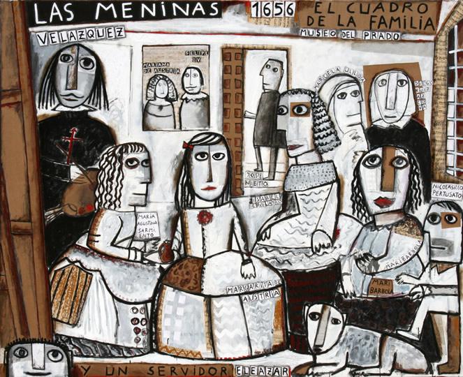 Las Meninas and a server