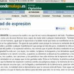 La Opinión de Málaga. 7-11-2010