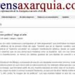 Prensa Axarquía. 5-11-2010