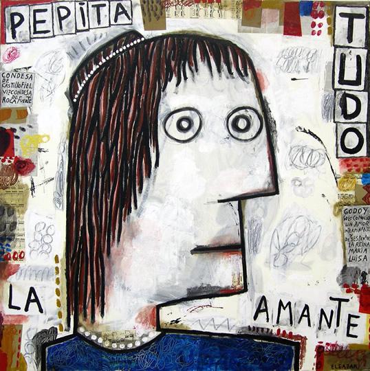 Pepita Tudo. The lover