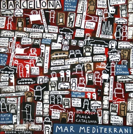 Beaches in Barcelona I