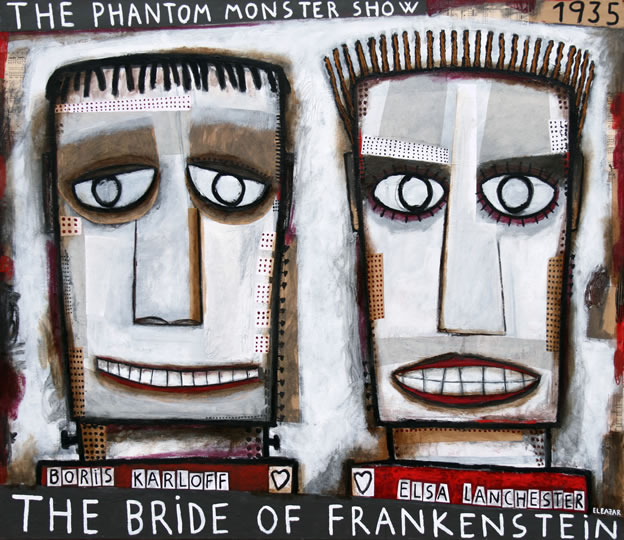 The bridge of Frankenstein. 59,06x51,18 in