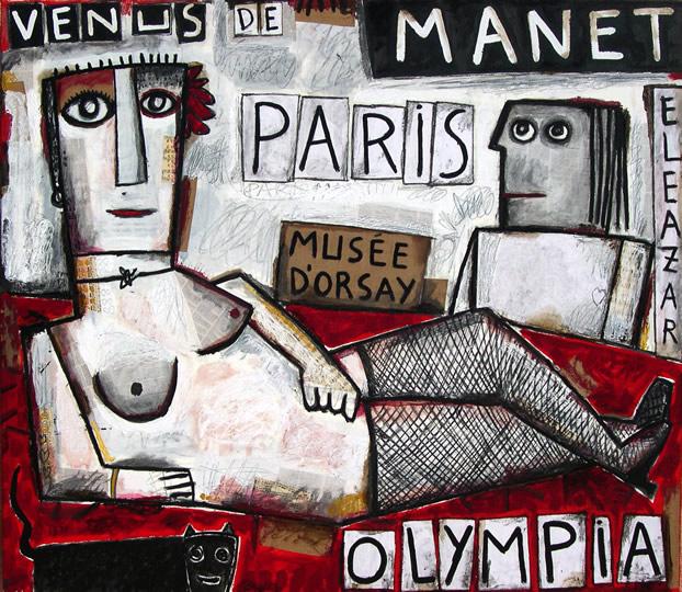 Venus of Manet. Olympia