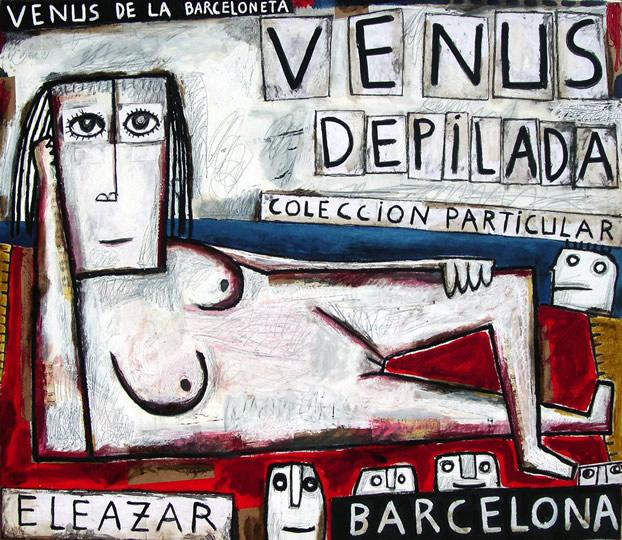 Shaved Venus. Venus of the Barceloneta